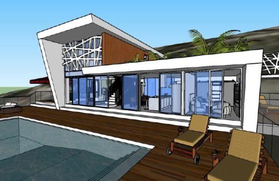 Anteproyecto para construcción de vivienda unifamiliar en Montepego
