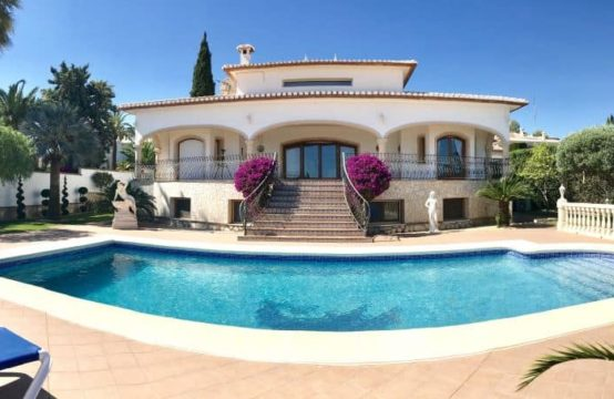 Luxury villa in the Marquesa VI of Denia.