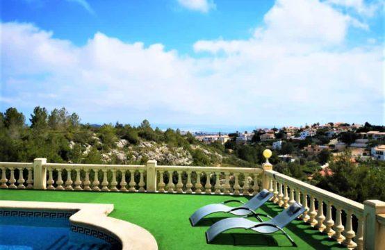 PRO1903<br>Villa en el Montgó con espectaculares vistas al mar y montaña