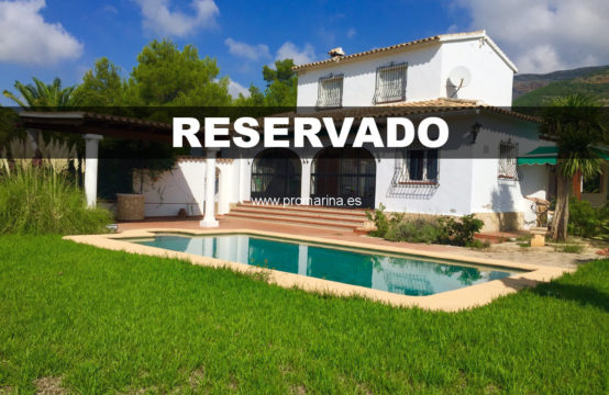 PRO1986A<br>Great villa overlooking the Montgó between Jesús Pobre and Javea