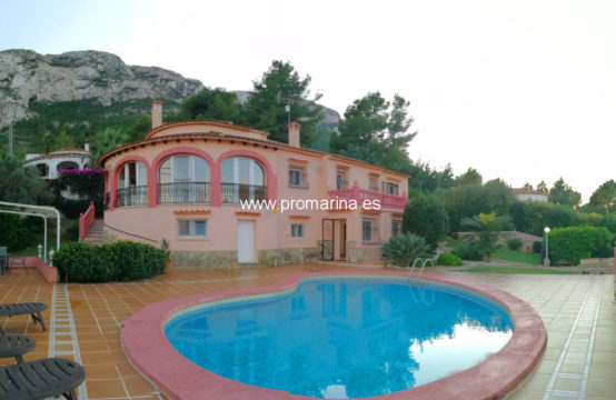 PRO173A<br>Beautiful villa in Montgó (available from November)