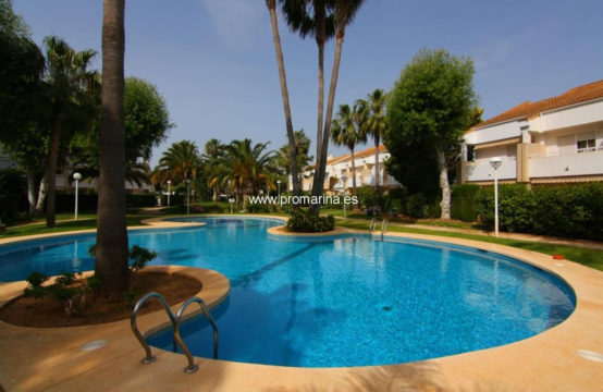 This Beautiful ground floor apartment for sale in Javea