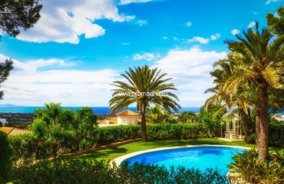 PRO2034<br>Magnificent villa in La Marquesa area with beautiful views of the city and the Mediterranean Sea