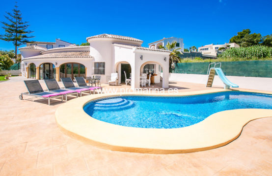 PRO2064C<br>Bonita villa muy cerca de la costa en Moraira