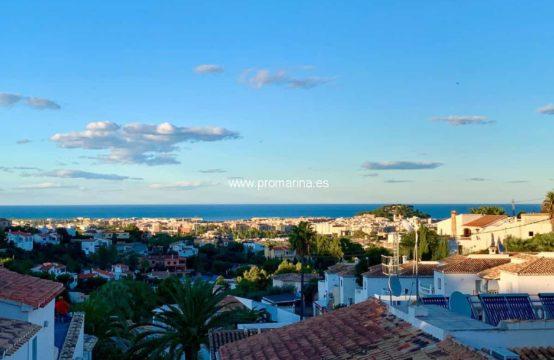 PRO2079C<br>Precioso chalet a la venta con espectaculares vistas al mar y a Dénia