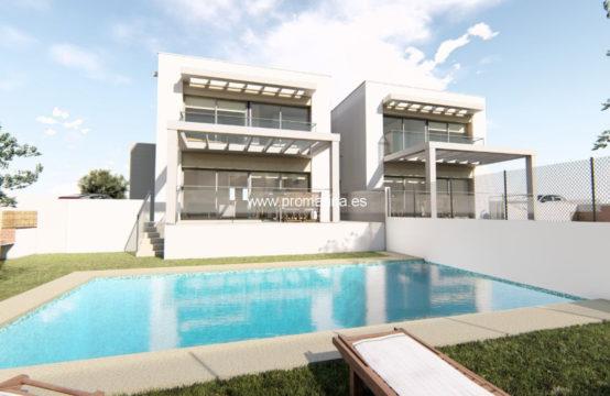PRO2093C<br>Preciosa casa adosada en construcción en Moraira