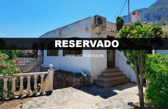 PRO2125<br>Villa zu reformieren in einer sehr guten Gegend von Dénia