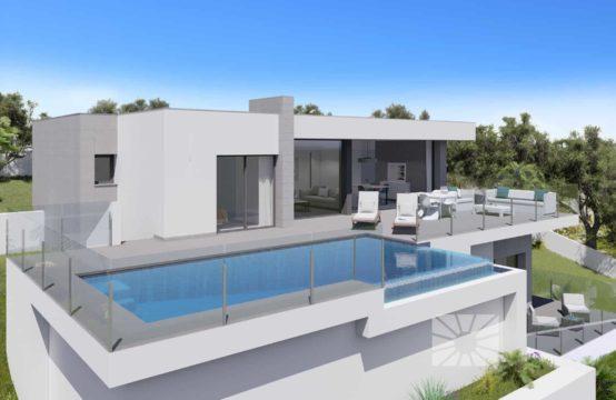 PRO2133<br>Villa de obra nueva en Cumbre del Sol