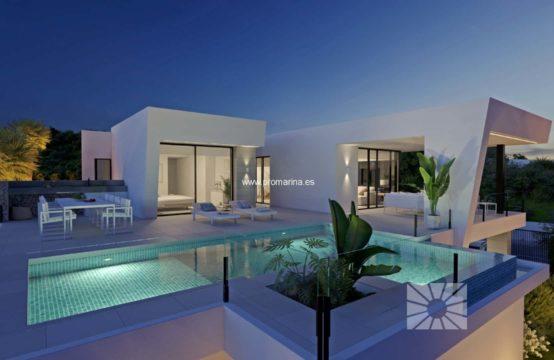 PRO2178<br>Villa moderne de construction récente à Cumbre del Sol