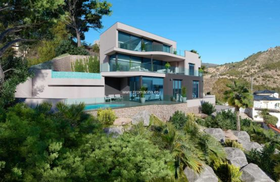 PRO2180<br>Newly built luxury villa in Calpe