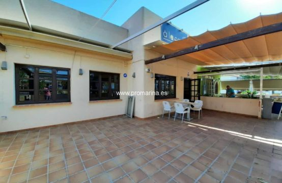 PRO2181<br>Restaurant for sale in the commercial area of Las Marinas