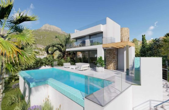 PRO2191<br>Modern villa in Calpe with sea views