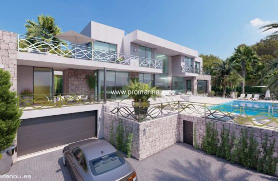 PRO2204C<br>Front line villa in Calpe with spectacular sea views