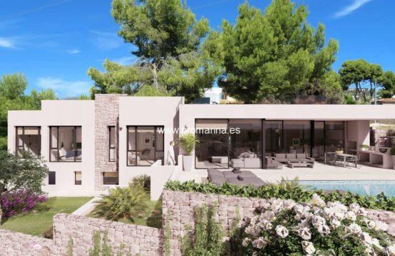 PRO2210C<br>Moderna villa cerca de la playa en Calpe