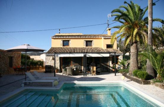 PRO2254C<br>Maison jumelée de style rustique à Benissa