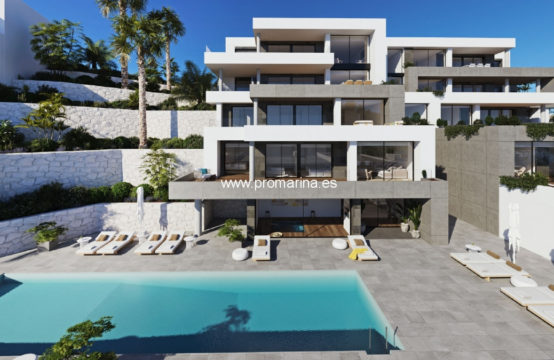 PRO2281<br>Promotion of luxury penthouses in La Sella